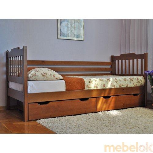 Кровать одноярусная Ева 80х190