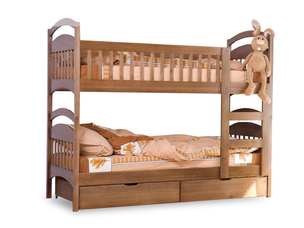двухъярусная кровать дуэт размеры схема сборки