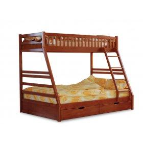 Двухъярусная кровать-трансформер Юлия 90/140х200
