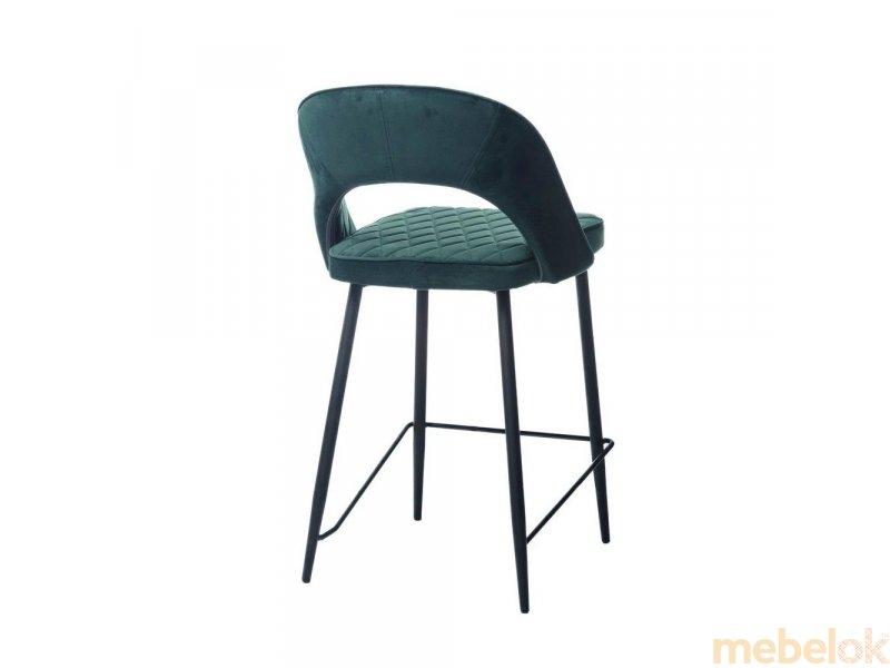 стул с видом в обстановке (Стул B-125 изумруд)