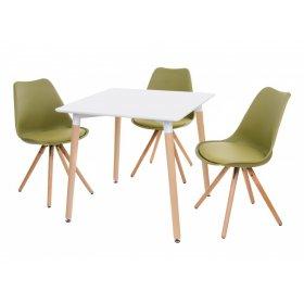 Комплект стол TM-30 + 3 стула M-02