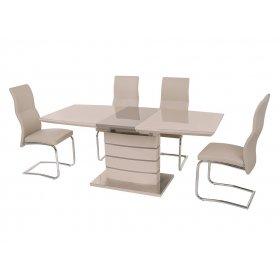 Комплект стол TM-50 капучино + латте + 4 стула S-108 капучино