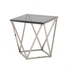 Стол CP-2 тонированный + серебро