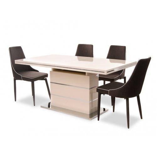 Деревянный стол TM-45 молочный