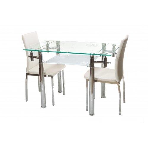 Обеденный стол Т-225 снежно-белый