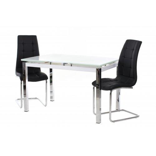 Обеденный стол Т-231-5 снежно-белый