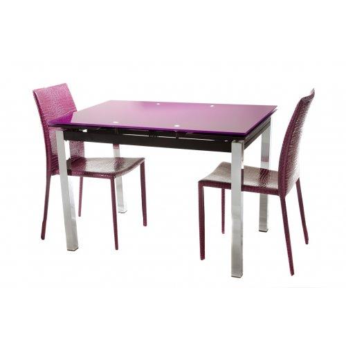 Обеденный стол Т-231-1 пурпурный