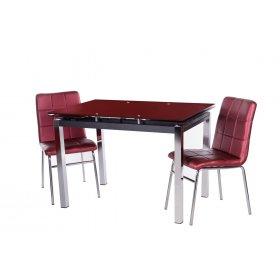 Обеденный стол Т-231-2 блестящая спелая вишня