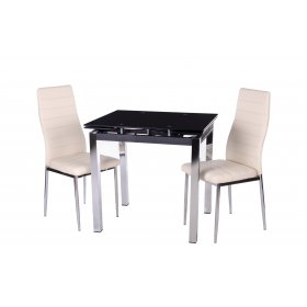Обеденный стол Т-239 черный