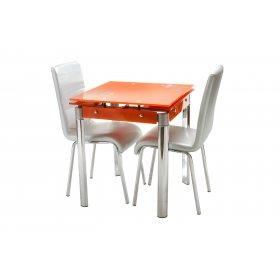 Обеденный стол Т-255 оранжевый