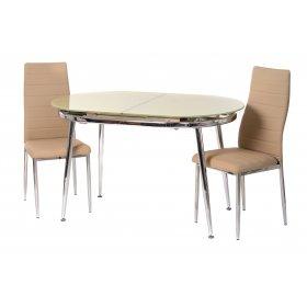 Обеденный стол Т-270 бежевый без пятаков