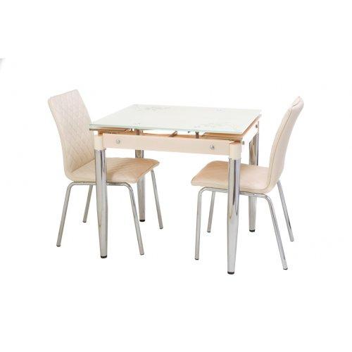 Обеденный стол Т-275 кремовый