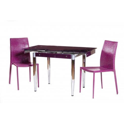 Обеденный стол Т-275 пурпурный