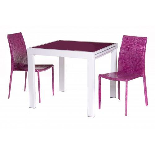 Обеденный стол ТС-100 пурпурный