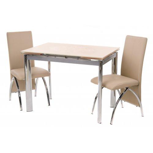 Обеденный стол TN-40 бежевый