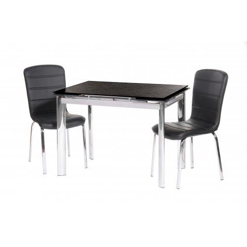Обеденный стол TN-40 черный