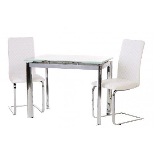 Обеденный стол TN-40 снежно-белый