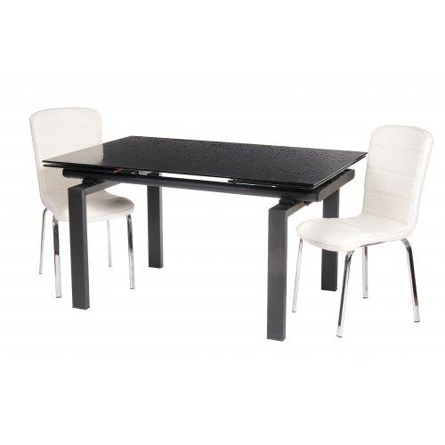 Обеденный стол TN-44 черный