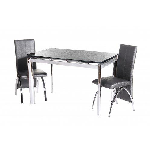 Обеденный стол TN-45 графит