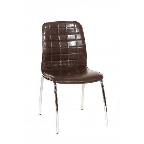 Стул N-72 блестящий коричневый
