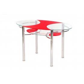 Стол обеденный T-211 красный