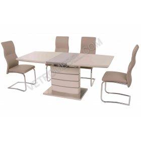 Комплект стол TM-50 капучино + латте + 4 стула S-108