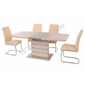 Комплект стол TM-50 капучино + латте + 4 стула S-105