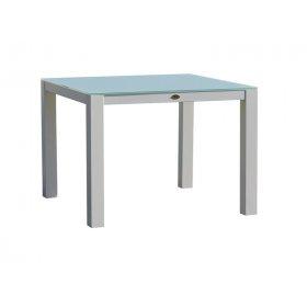 Стол квадратный со стеклом Axis