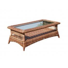 Столик кофейный со стеклом Ebony