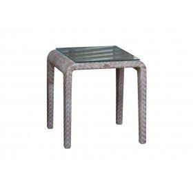 Столик приставной со стеклом Journey