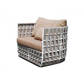 Кресло для отдыха с подушками Strips