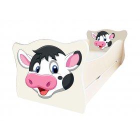 Детская кровать Animal 10 Корова 70х140