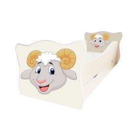 Детская кровать Animal 12 Бараш 70х140