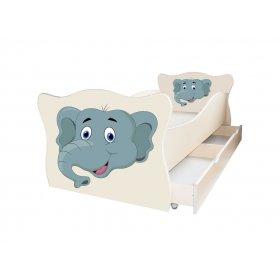 Детская кровать Animal 13 Слоненок 70х140