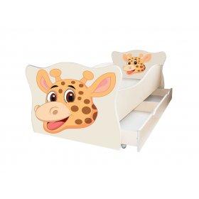 Детская кровать Animal 14 Жираф 70х140