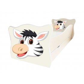 Детская кровать Animal 16 Зебра 70х140
