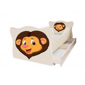 Детская кровать Animal 2 Лев 70х140