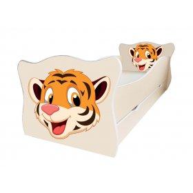 Детская кровать Animal 4 Тигр 70х140