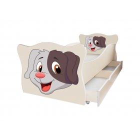 Детская кровать Animal 5 Собачка 70х140