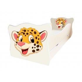 Детская кровать Animal 7 Гепард 70х140