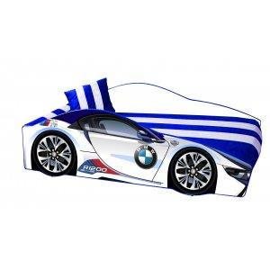 Кровать Elit Е-1 BMW 80х170 белая с подъемным механизмом