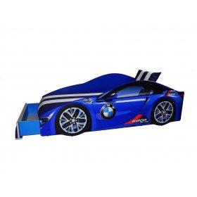 Кровать Elit BMW 70х150 синяя