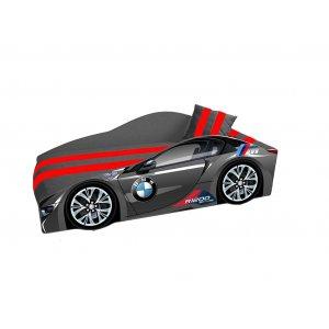 Ліжко Elit Е-1 BMW 80х170 чорна з підйомним механізмом