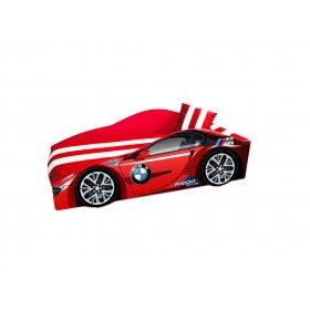 Кровать Elit BMW 70х150 красная