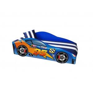 Кровать Elit MC 70х150 синяя с ящиком