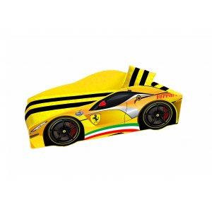 Ліжко Elit Е-2 Ferrari жовта 80х170 з підйомним механізмом