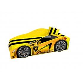 Кровать Elit Lamborghini желтая 70х150