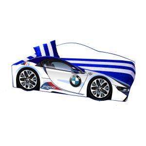 Кровать детская Elit E-1 BMW White 80х170 с ящиком