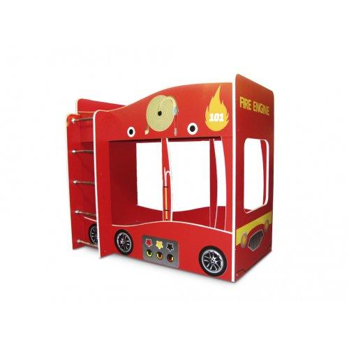 Кровать Пожарная машина 80х170