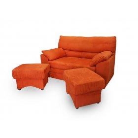 Комплект мягкой мебели Koln 2 (диван + 2 пуфа)